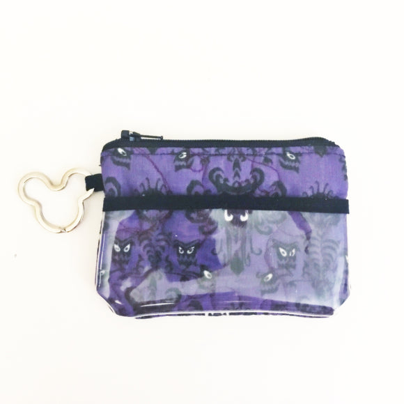 Keychain Id Wallet - Haunted Mansion