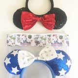 Medium Disney Doodles Ear Bag