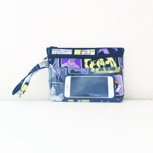 Touch Screen Wristlet - Villains