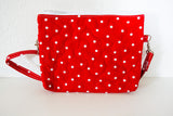 The Bear Necessities Bag - Red Polka Dots