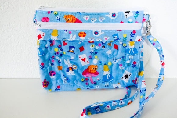 The Bear Necessities Bag - Robin Blue Alice