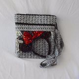 Quilted Convertible Bag - Spaceship Earth