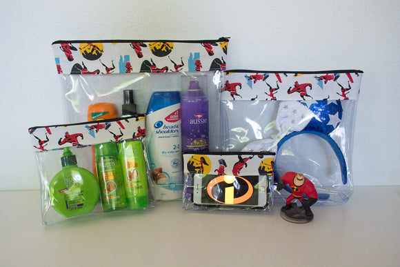 Travel Bag Set - The Incredibles