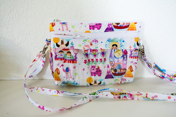 The Bear Necessities Bag - White Small World