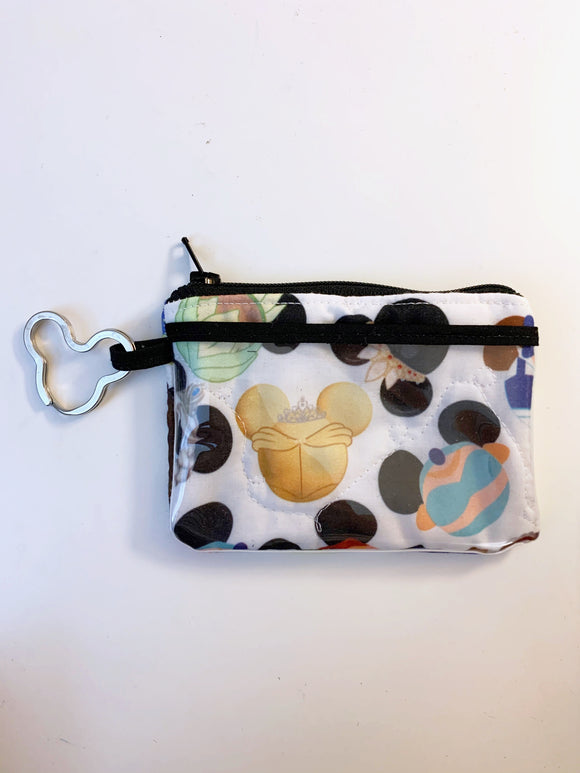 Ready To Ship - Keychain ID Wallet - Mickey Characters