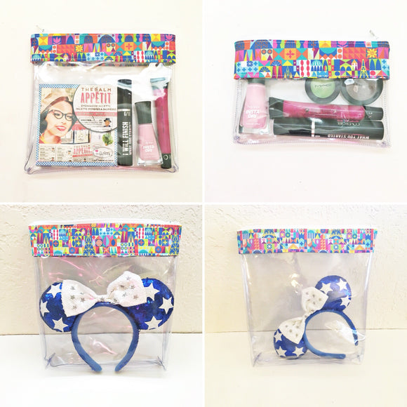 Travel Bag Set - Colorful Small World