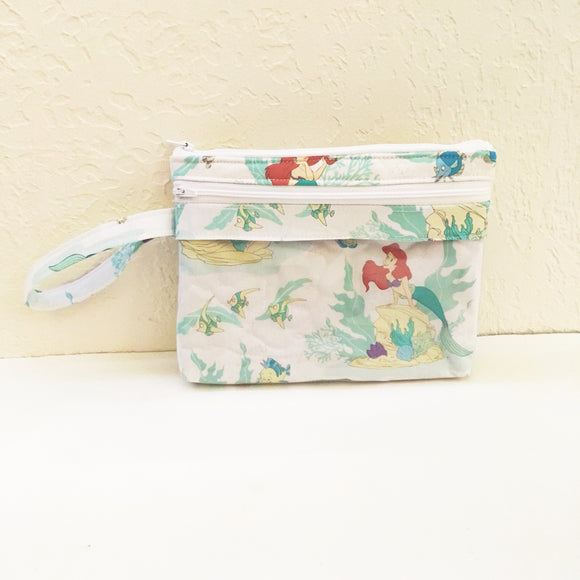 The Little Mermaid Touch Screen Wristlet