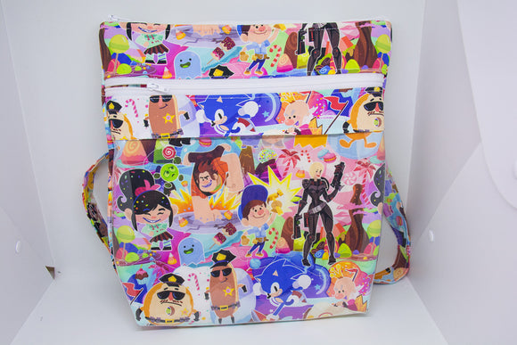 Quilted Convertible Purse - Wreck It Ralph