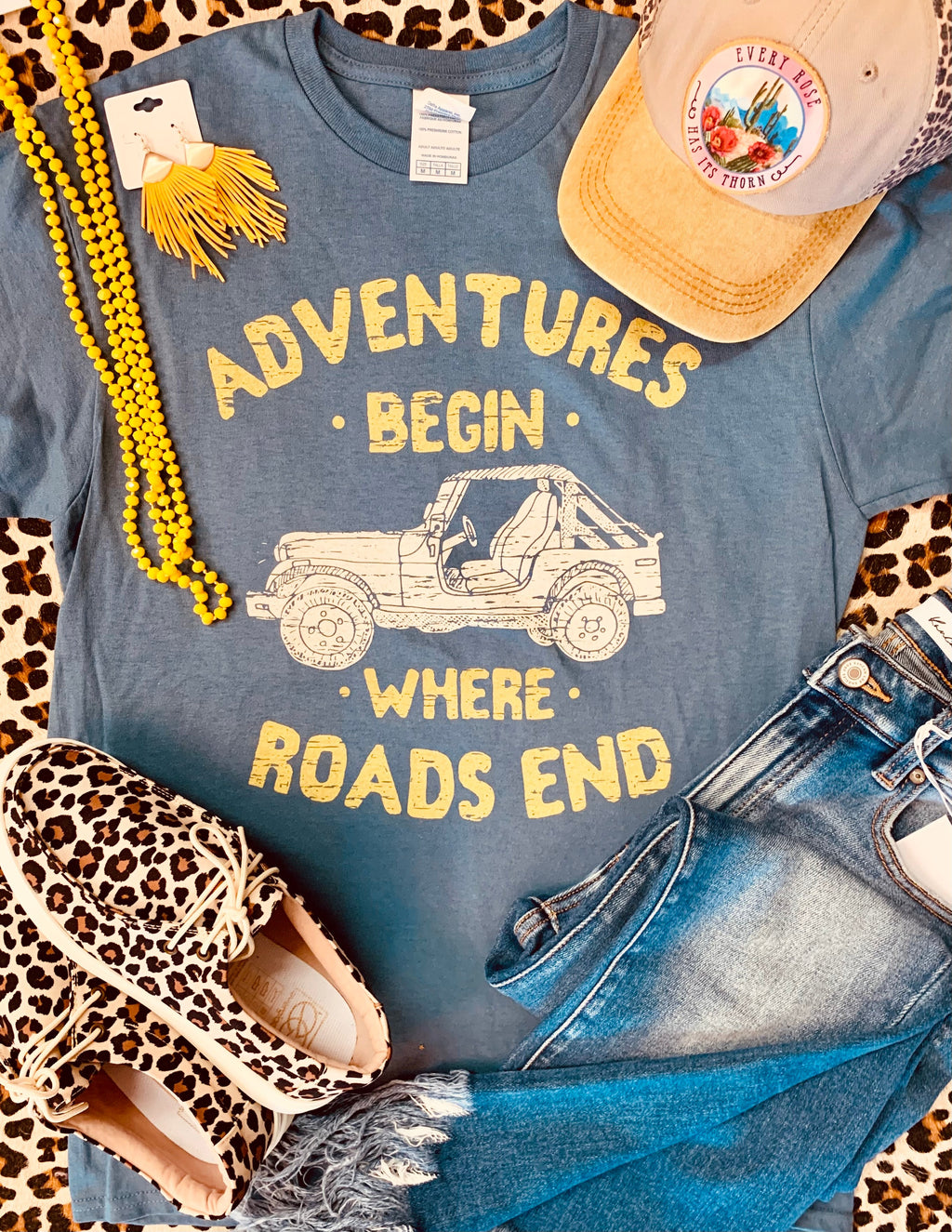 Adventures Begin Where Roads End