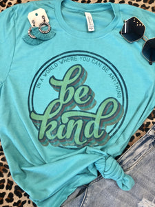 BE KIND- SEA GREEN & LIME