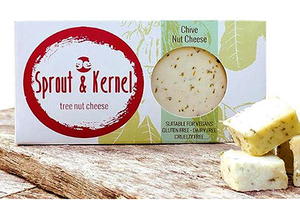 Sprout & Kernel - Tree Nut Cheese - Chive - The Vegan Cheese Shop