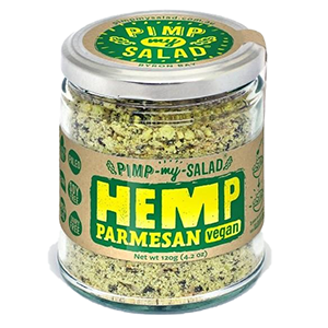 Extraordinary Foods - Hemp Parmesan Cheese - The Vegan Cheese Shop