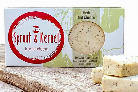 Sprout & Kernel - Tree Nut Cheese - Herb - The Vegan Cheese Shop