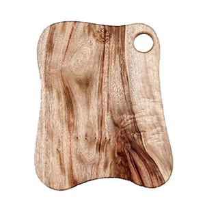Eco Food Boards - Main Arm - 25cmx40cm with Single Hole Thumb Handle - The Vegan Cheese Shop