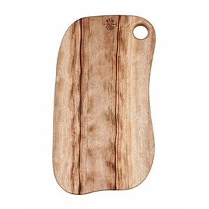 Eco Food Boards - Mooball - 32cmx45cm with Single Hole Thumb Handle - The Vegan Cheese Shop