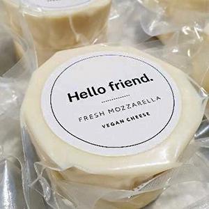 Hello Friend - Fresh Mozzarella - The Vegan Cheese Shop