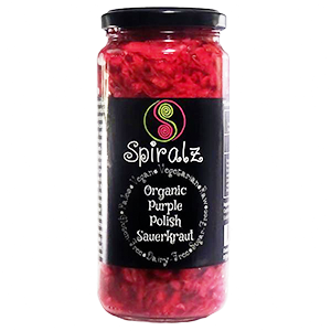 Spiralz - Organic Purple Polish Sauerkraut - The Vegan Cheese Shop