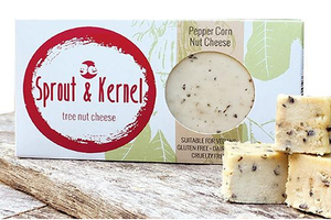 Sprout & Kernel - Tree Nut Cheese - Peppercorn - The Vegan Cheese Shop