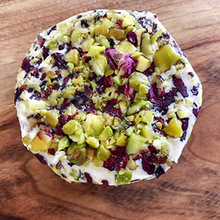 Brie - Adorned With Rose And Pistachio
