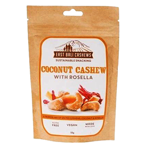 East Bali Cashew Nuts - Coconut Cashew With Rosella - The Vegan Cheese Shop