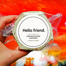 Hello Friend - Springthyme Havarti - The Vegan Cheese Shop