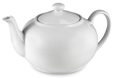 Classic Tea Pot- White - The RegistryNg™