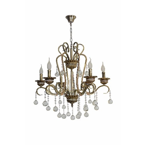 12 Light Chandelier Chrome Finish