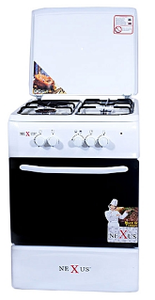 Nexus 4-Burner Gas Cooker - The RegistryNg™