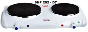 Sonik Hot Plate Double SHP 202-D7 - The RegistryNg™