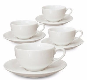 Tea Cups Saucers Set - 6