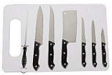 Universal Knife Set With Cutting Board
