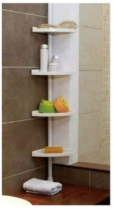 Bathroom Corner Shelf - 4 Tier