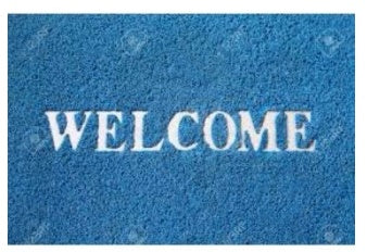 Durable WELCOME Foot Mat - The RegistryNg™