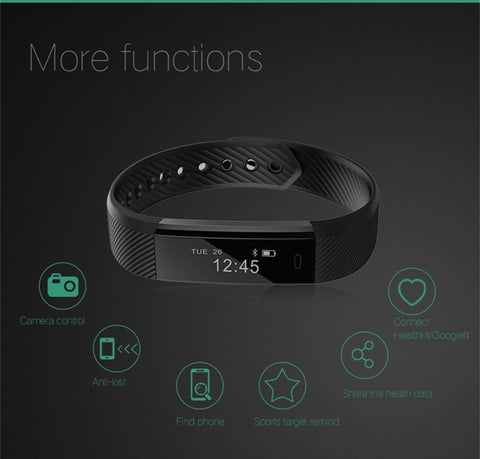 VeryFit Smart Watch Activity, Fitness & Sleep Tracker for Apple iOS & Android