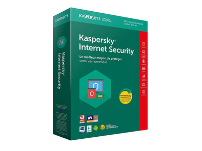 Kaspersky internet Security 1pc 1an