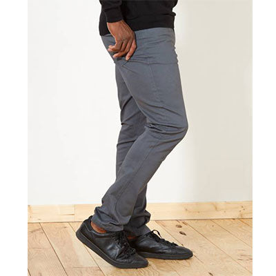 Pantalon fitted 5 poches L36 +1m90