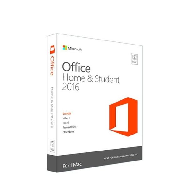 Microsoft Office Home & Business 2016 - 1 Poste - License 1 An - Multicolore