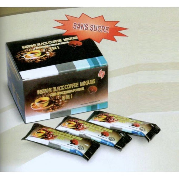 BLACK COFFEE NO SUGAR WITH GANODERMA
