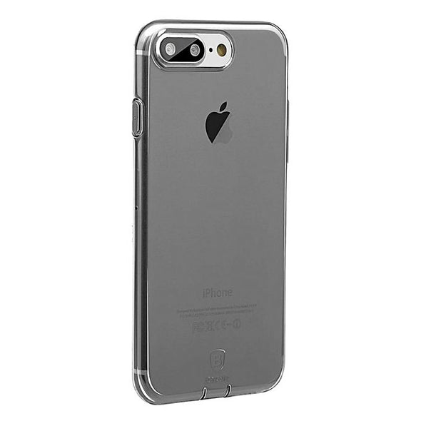 Coque Slim iPhone 8+ PLUS - Noir Fumé