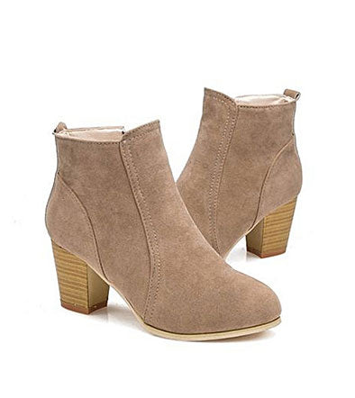 Fashion Autumn Winter Boots With High Heels Boots Shoes Martin Boots