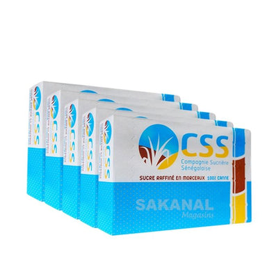 Pack Sucre CSS - 5 kg