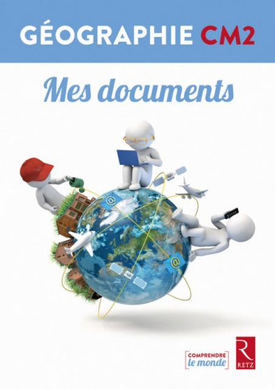 Géographie CM2 - Livrets Mes documents (pack de 6)