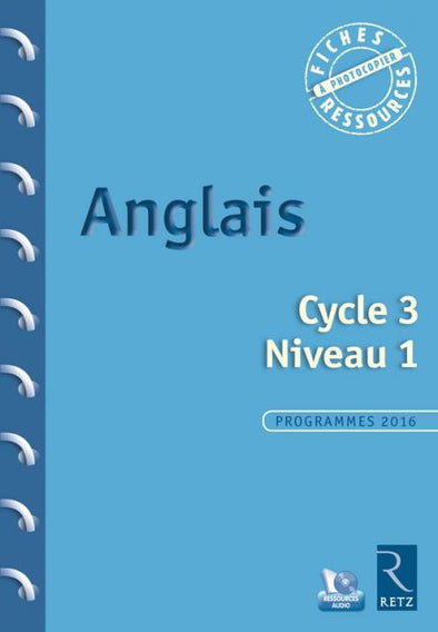 Anglais - Cycle 3 - Niveau 1 (+ CD-Rom)