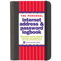 The Personal Internet Address & Password Logbook (Anglais) Reliure à spirales – 6 janvier 2010