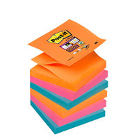 Post-it Z-Notes Super Sticky Collection Bangkok 76 x 76mm - Lot de 6