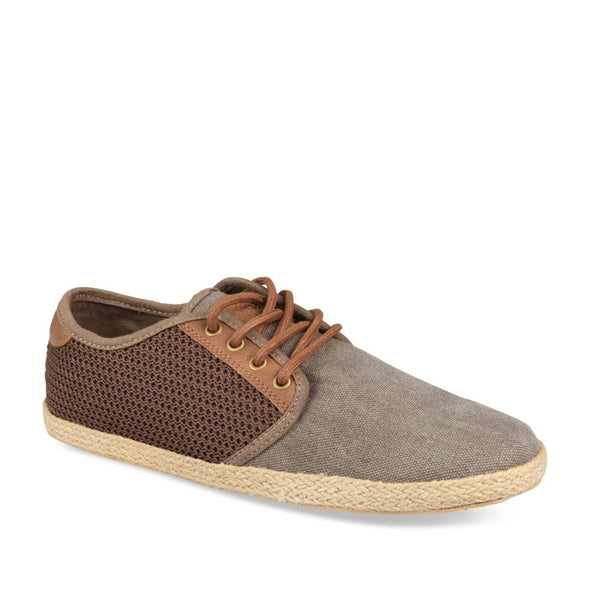 Espadrilles MARRON DENIM SIDE