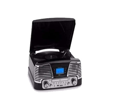 Vinyl Encoder Turntable With MP3 Player -FM Radio -CD Deck-USB & MMC Slot