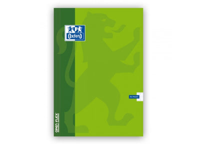 Cahier - Couverture plastique - Oxford - 17x22cm - 96 pages - Grands carreaux