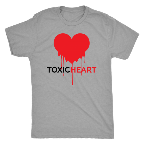 Toxic Heart Gray (M)