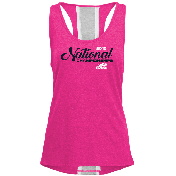 USTA LEAGUES 2016 National Championships Women's Berry Pink Rally Tank